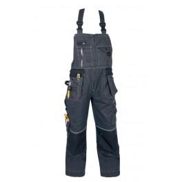Kalhoty ORION KRYŠTOF, s náprs. , šedo- černé, zimní