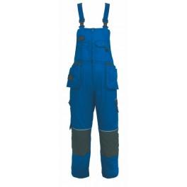 Kalhoty pánské s náprsenkou ORION, modro-černé