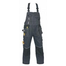 Kalhoty pánské ORION,šedo-černé